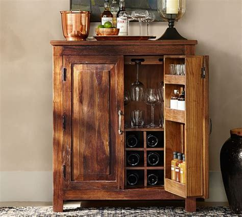 armoire cabinet pottery barn bowry bar cabinet pottery barn laundry cabinets pottery