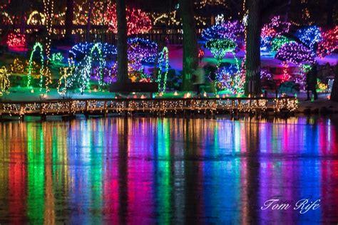 Light Show by Light Show Rotary Botanical Gardens