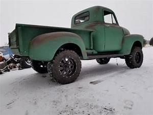 1951 Chevrolet 3100 Pickup Truck 4x4   4 Bt Cummins  Off