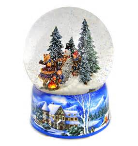 let it snow light up musical christmas snowstorm globe pink cat shop