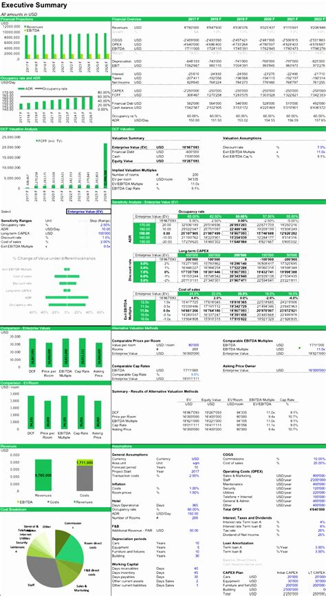 financial ratio analysis excel template