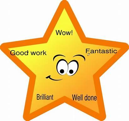 Star Reward Clipart Clip Points Rewards Employee