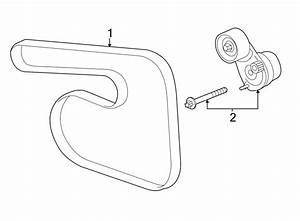 Chevrolet Sonic Accessory Drive Belt Tensioner Assembly