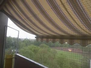 markise balkon awesome markise fr balkon ohne bohren with With katzennetz balkon mit elizabeth garden creme