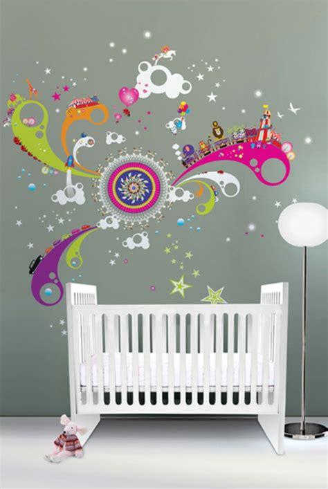 stickers chambre adulte la décoration murale chambre bébé comment faire pour