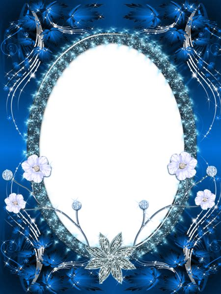 beautiful dark blue transparent png photo frame gallery