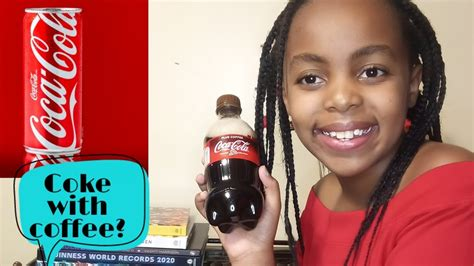 When you mix hot or boiling water with coffee grounds, you start extracting a bunch of different compounds from your coffee. TASTING THE NEW COKE WITH COFFEE ARI GIRL COOL - YouTube