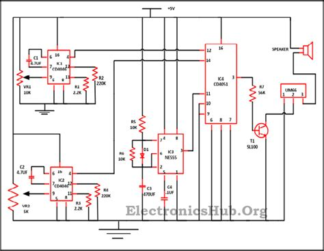 Audio Equalizer Circuit Using Combinational Logic Circuits