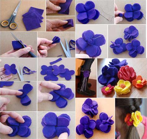 come creare fiori feltro come creare fiori con feltro
