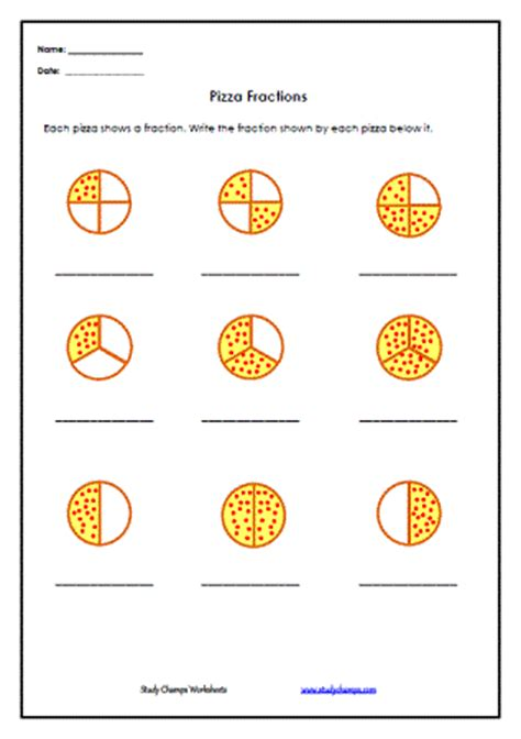 Naming Fractions Worksheets  Fractions Worksheets And Circles On Pinterest3rd Grade Free