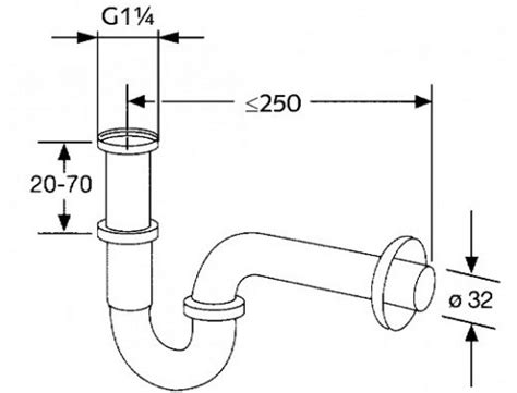 Bathroom Sink Drain Pipe Size