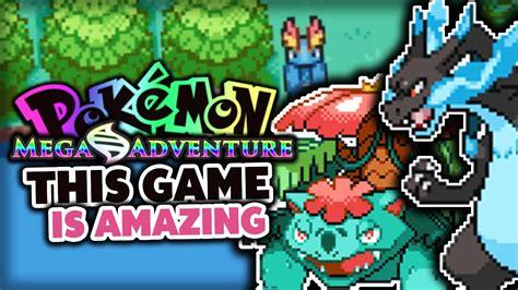 pokemon fan games finished fan game pokémon mega adventure pokemon fan