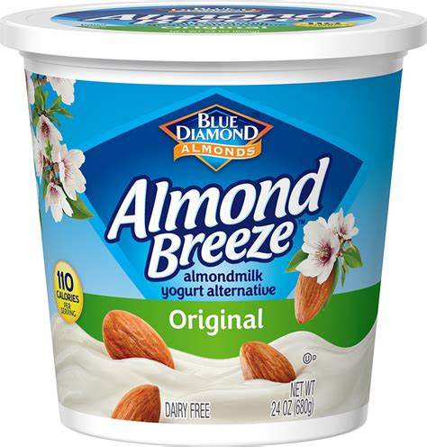 original almondmilk yogurt alternative non dairy yogurt alternative blue diamond blue diamond