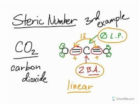 Finding The Steric Number Part 3 Youtube