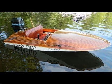 Mini Most Boat Build by Muskoka Seaflea Fritti 5 Mini Most Xl 2014