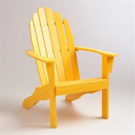 golden rod adirondack chair world market