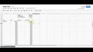 google docs monthly budget template sample templatex1234 With google sheet monthly budget template