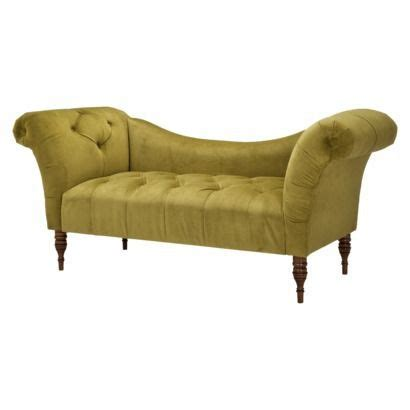 Button Tufted Chaise Settee by Button Tufted Chaise Settee Avocado Green On Sale At