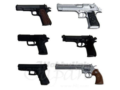 1/12 Realistic Handgun (6 Types) By Platz
