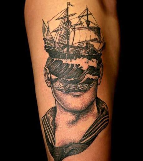 Signification Dessin Bateau by Tatouages Marins 15 Inspirations Et Id 233 Es Pour Un Tattoo