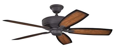 black outdoor ceiling fan kichler distressed black monarch ii patio 54 quot outdoor