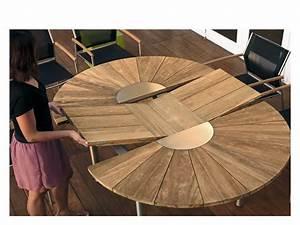 Gartenmöbel Tisch Rund : gartentisch ausziehbar rund ~ Indierocktalk.com Haus und Dekorationen