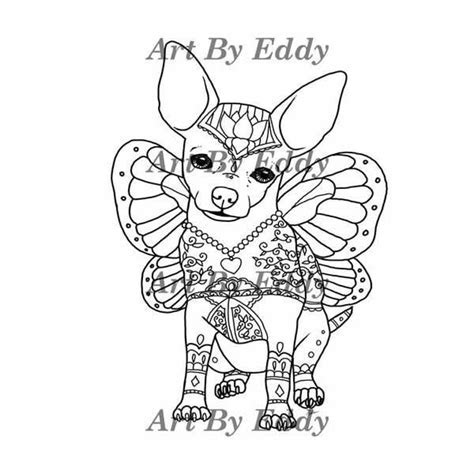 Chihuahua Coloring Book for All Ages ? LoveTheBreed.com