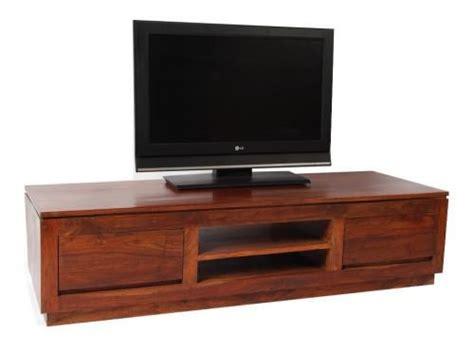 meuble tv palissandre massif 2 tiroirs