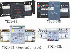63a Dual Power Automatic Transfer Switch For Generator Ats