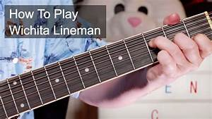 U0026 39 Wichita Lineman U0026 39  Glen Campbell Guitar Lesson