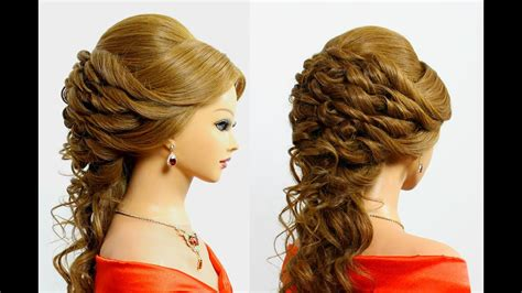 Beautiful Prom & Wedding Hairstyle For Long Hair Tutorial