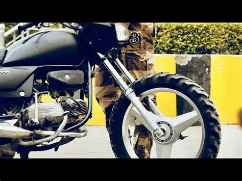 Modified Bikes Tyres by Mercedes Alloy And Tractor Tyre In Splendor Plus