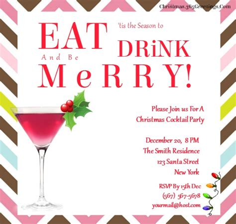 Christmas Party Invitation Ideas Christmas Celebration