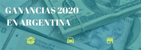 Es un típico impuesto al ingreso que se le cobra a cada persona que trabaja en blanco. El Impuesto a las Ganancias 2020 - Calim - Tu Contabilidad ...