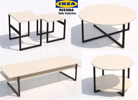 3d Other Ikea Table Rissna