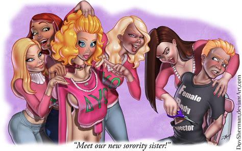 Pin By Lora Lie On Feminization Sorority Sisters