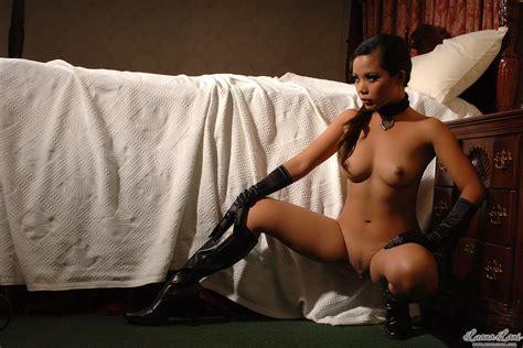 Blacksatin Porn Pic From Luana Nude In Black