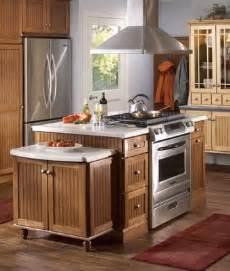 stove on kitchen island kitchen helpful tools merillat