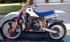 1985 Husqvarna Cr500  Not Running W    Spare Bike