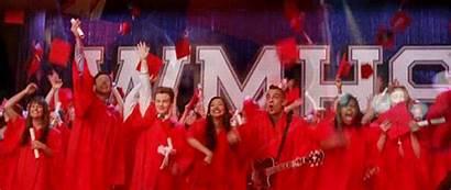 Glee College Graduation Cuando Musical Proof Scenes