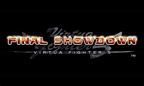 virtua fighter  final showdown   logo  character