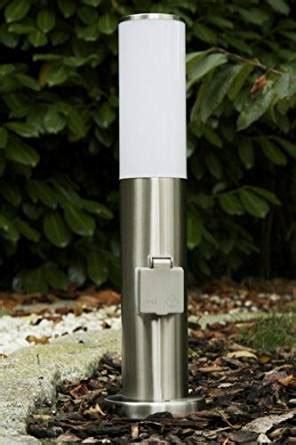 le exterieur avec prise de courant borne lumineuse avec prise 233 lectrique pour le jardin fr luminaires et eclairage