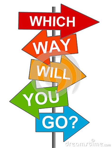 Which Way Stock Photo  Image 26301620