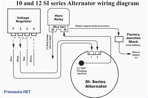 delco remy 3 wire alternator wiring diagram leseve info