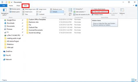 common windows file extensions it services