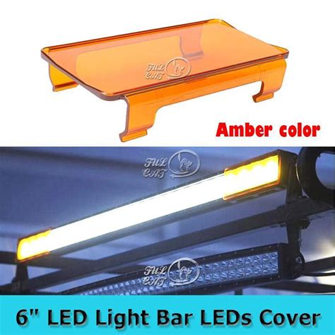 6 quot inch led light bar lens cover 12 quot 24 quot 32 quot 42 quot 50 quot 54