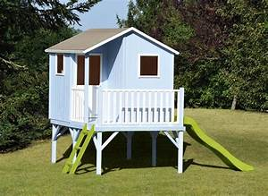 Maisonnette En Bois Sur Pilotis : maisonnette bois sixtine de soulet ~ Dailycaller-alerts.com Idées de Décoration