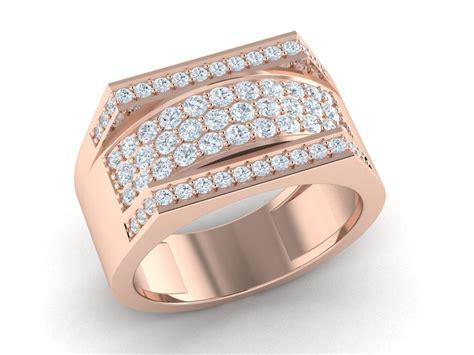 genuine ctw  cut diamond fancy mens wide wedding