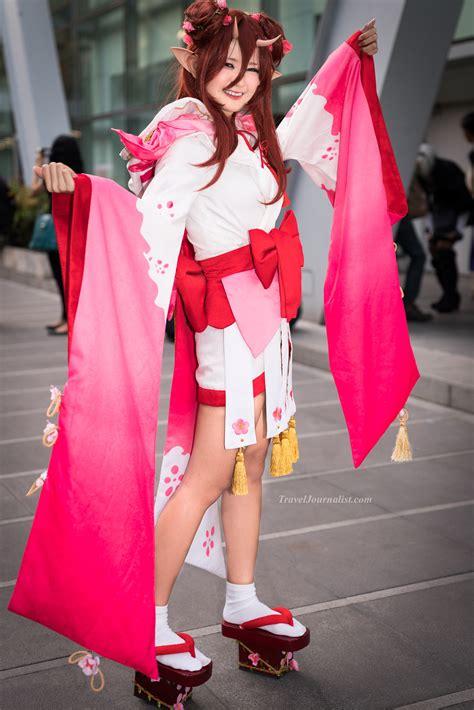 beautiful cosplay girls  japan expo   bangkok