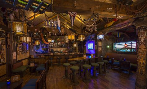 trader sam s grog grotto bar now open at disney s polynesian resort at walt disney